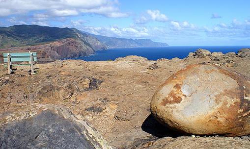 Ponta de Sao Lourenco断崖